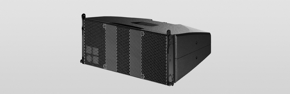 "The T10 is a passive 2-way loudspeaker housing two 6.5"" drivers positioned in a dipolar arrangement and a 1.4"" HF compression driver and a passive crossover network. The T10 can be used both as a line array and as a high directivity point source loudspeaker."