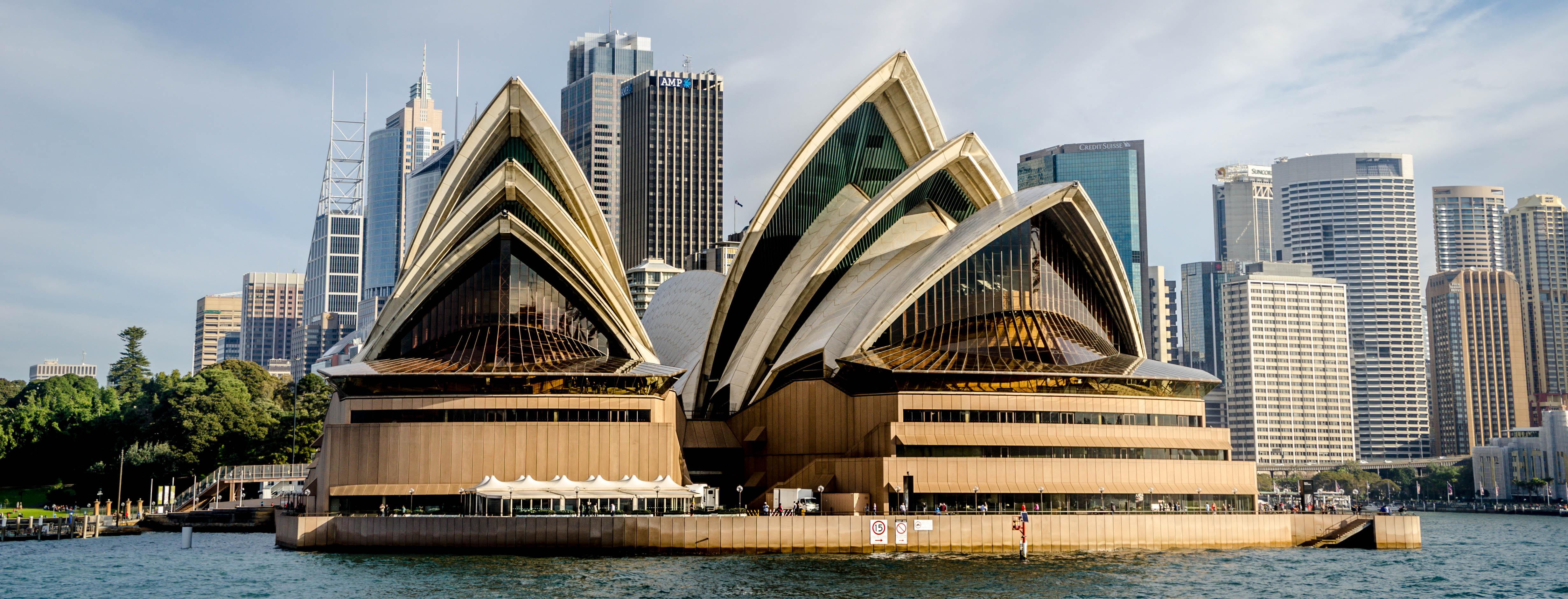 sydney opera house at sunset - 30+ Free Images Of Sydney Opera House  Background
