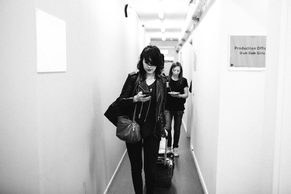 tour, dum dum girls