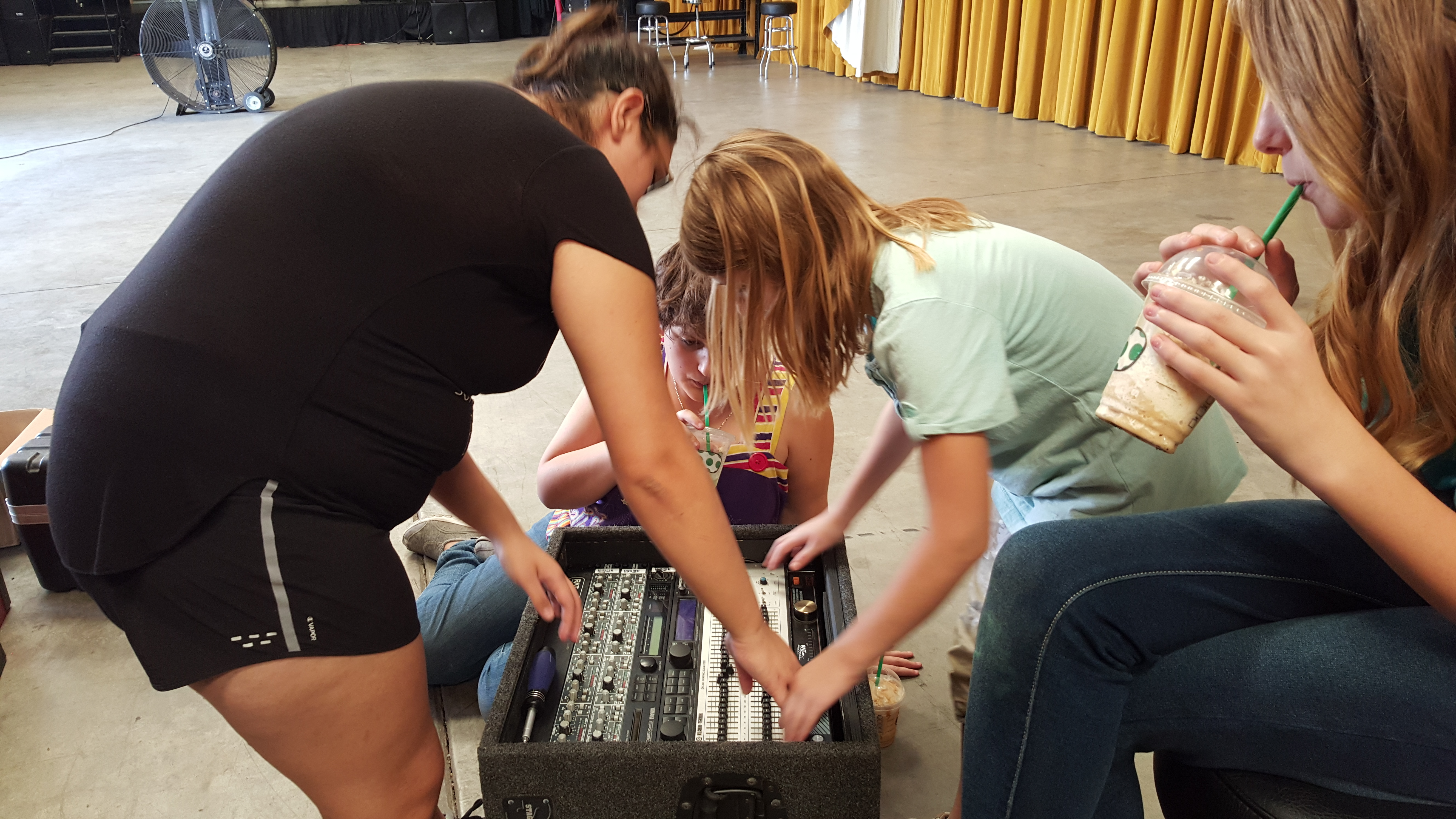 SoundGirls Building Racks