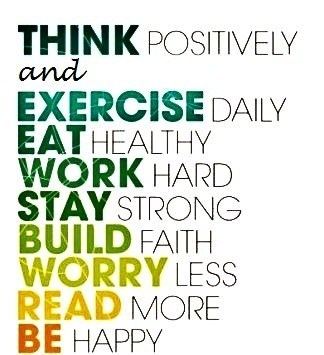 Stay happy and healthy always