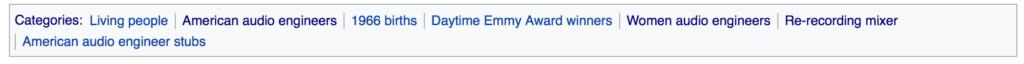 Wikipedia categories
