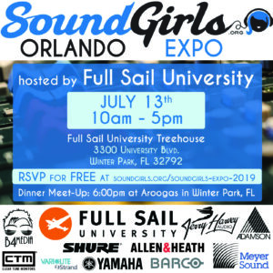 SoundGirls Orlando Expo 2019 @ Full Sail University