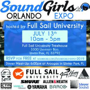SoundGirls Orlando Expo 2019 @ Full Sail University