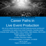 Career Paths in Live Sound & Production