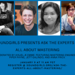Ask the Experts - All About Mastering