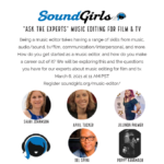 Ask the Experts - Music Editors for Film & TV